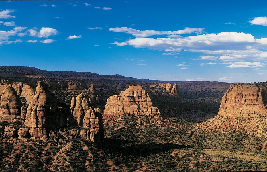 Un paysage hors du temps que  le Colorado National Monument;  Copyright DR