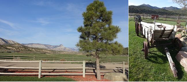 High Lonesome Ranch c'est aussi :  Randonnées à cheval, pêche à la mouche, ball-trap, repas collectifs avec les autres convives à la Guest House . Copyright X.Bonnet