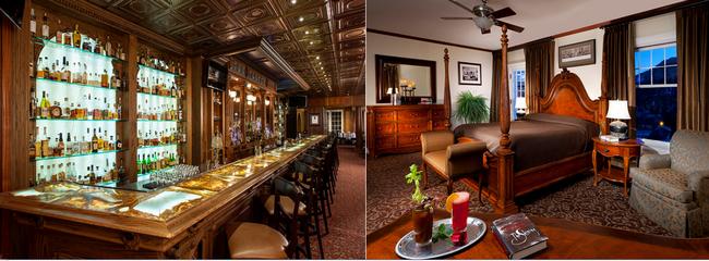 Le Stanley Hotel,  une bâtisse magnifique plantée au milieu de nulle part, a conservé le style des années 1900... Copyright DR