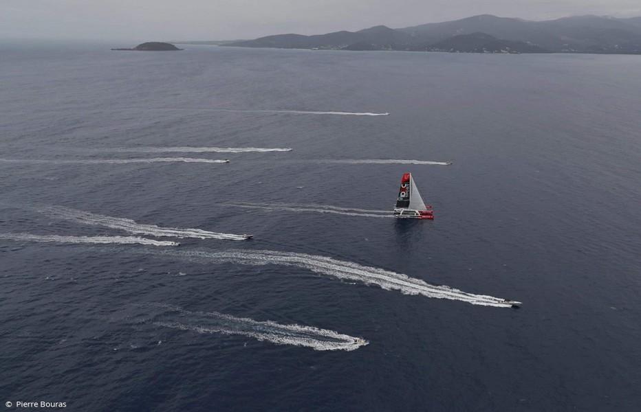 """""""Pourquoi ne pas imaginer une flotte de petits bateaux volants en fibre de lin ou en résine recyclable. Cela ferait une flotte magnifique à travers l'Atlantique.""""Crédit photo DR"""