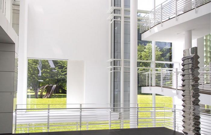 A l'intérieur sont exposés les chefs-d'œuvre de la collection privée de Frieder Burda. © OT Allemagne