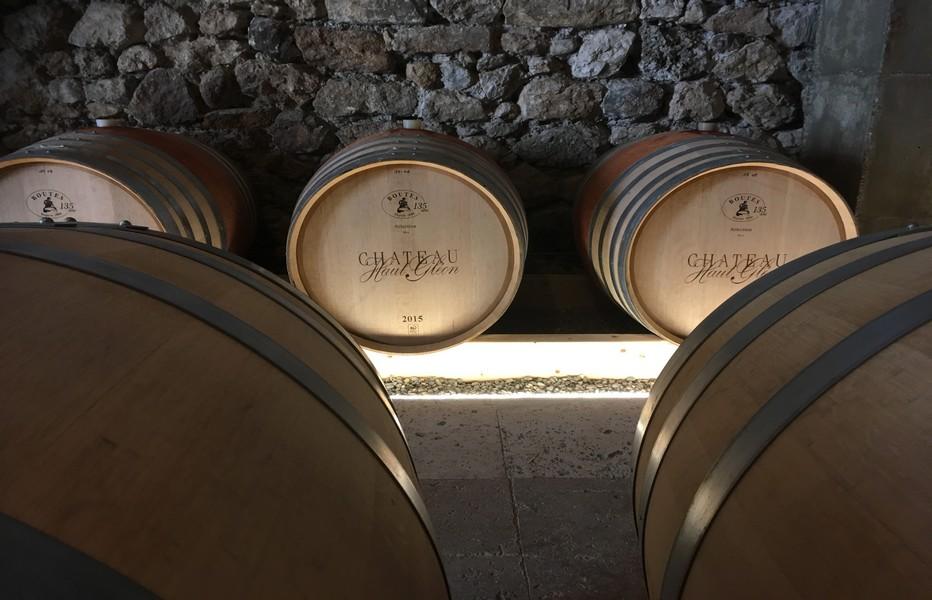 Les chais du château de Haut Gléon @ R.Bayon