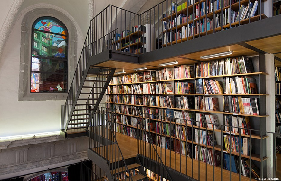 Voyagez en lignes avec les éditions Glénat.....Couvent Sainte-Cécile à Grenoble @J.M. Blache /Glénat