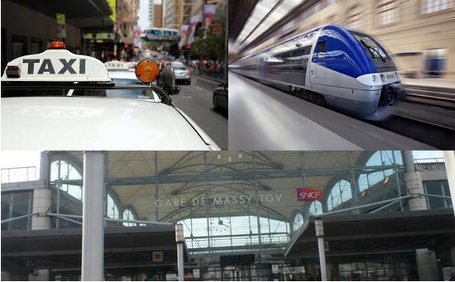 Testée depuis le 6 mars au départ de Rennes, les clients d'Air France à destination des îles des Antilles Françaises de la Guyane, de la Réunion et de New York (JFK) * peuvent rejoindre plus facilement l'aéroport de Paris-Orly grâce à une offre combinée « train + avion » en partenariat avec TGV AIR via la gare de Massy  @ Gare de Massy SNCF et TGV