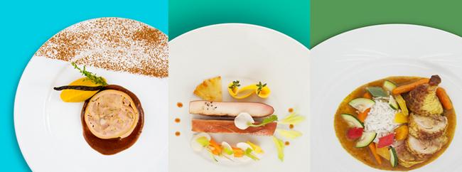 Ambassadrice de la gastronomie française en plein ciel, la compagnie nationale a également confié en 2018 l'élaboration de ses cartes en première et business à six chefs étoilés de renom (Joël Robuchon, Michel Roth, Olivier Bellin, Anne-Sophie Pic, Guy Martin et Régis Marcon). @ DR
