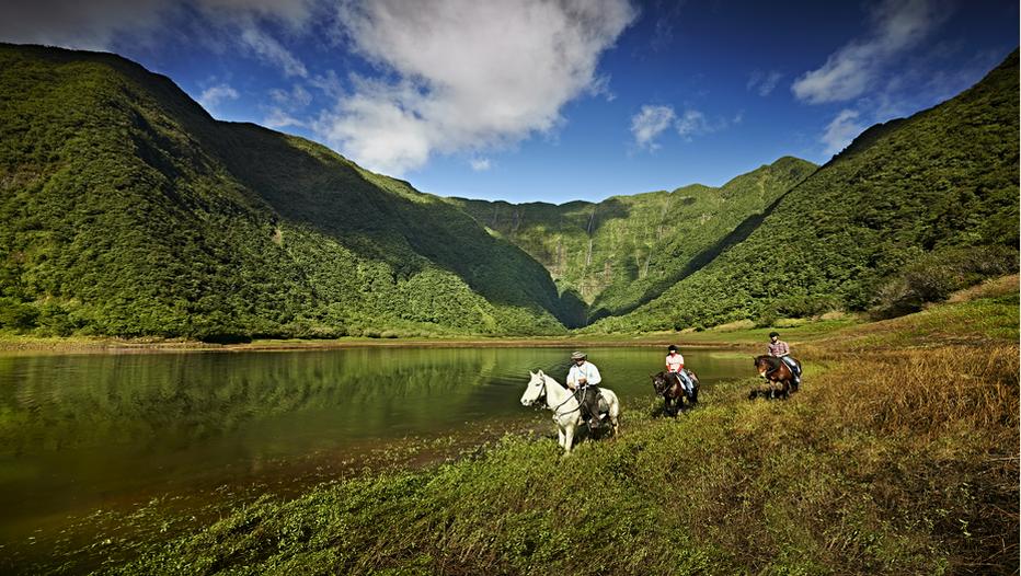 La Réunion, équitation Grand Etang ©Studio Lumière