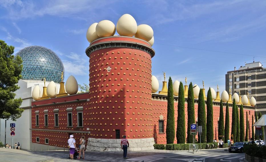 Le Théâtre-Musée de Salvador Dali vous invite à une expérience époustouflante conçue par cet artiste hors normes. Copyright Fundació Gala-Salvador Dalí, Figueres.