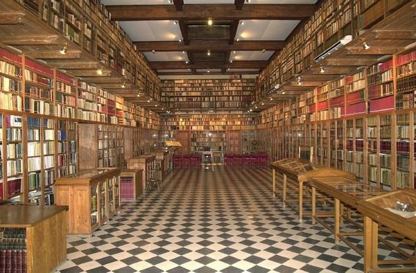 Biblioteca del Castell,  copyright Ajuntament de Peralada.