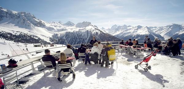C'est dans la région du Valais que l'on trouve les domaines skiables les plus hauts de la Suisse. Copyright DR