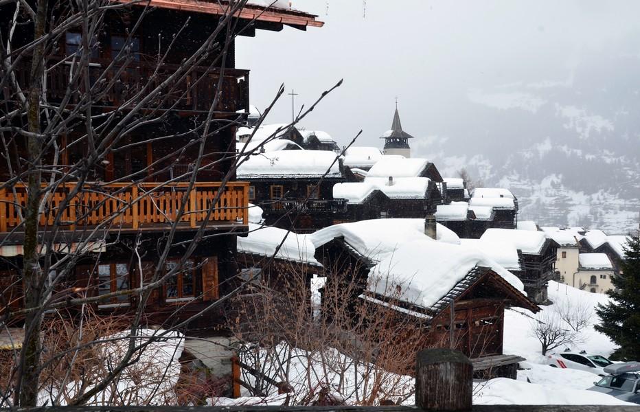 Grementz dans le Valais, un village dans un décor  de carte postale. @ David Raynal