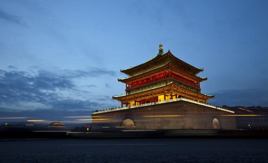 Un temple de la cité de Xi'an  @ Pixabay