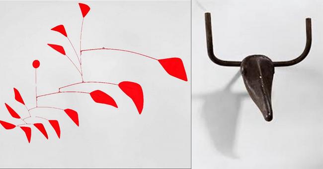 Exposition Calder-Picasso au Musée Picasso. Exposition jusqu'au 25 août 2019. Organisée en partenariat avec la Calder Foundation, New York et la Fundación Almine y Bernard Ruiz-Picasso para el Arte et co-produite avec le Museo Picasso Málaga @2019 . Calder fondation N.Y./ADACP Paris et @Béatrice Hatcla et sucession Picasso 2019