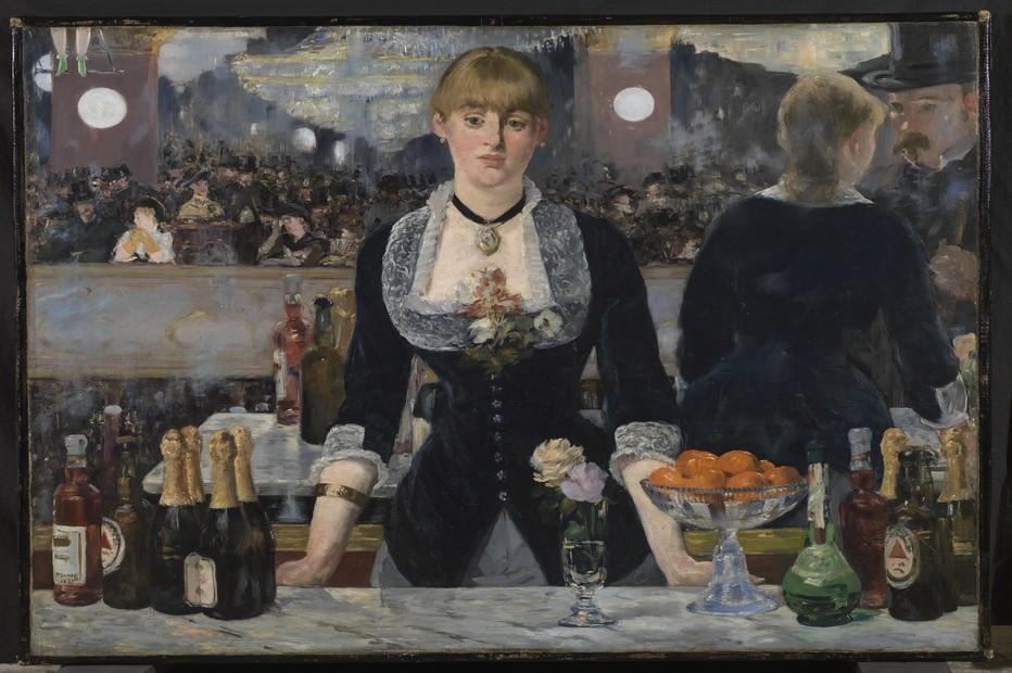 """Edouard  """"un bar aux Folies Bergère 1882 """" @ The Courtauld Gallery London Samuel Courtauld"""