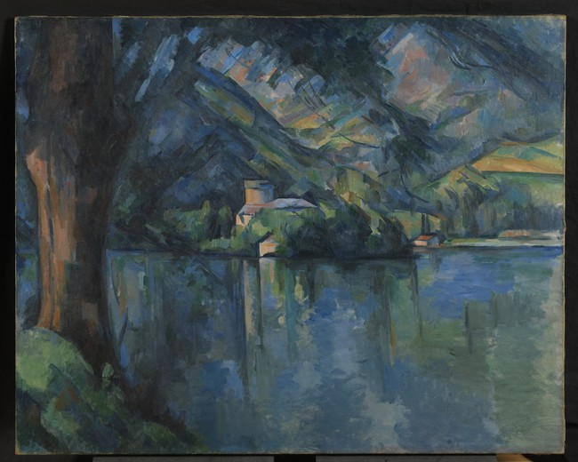 """Paul Cézanne """" Le Lac  d' Annecy 1896"""" @The Courtauld Gallery London Samuel Courtauld"""