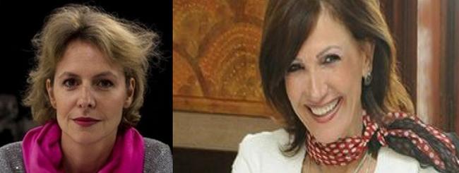 De gauche à droite :  Valérie Sasportas, chef de service du pôle Tourisme du Figaro,@ FB ; Rania Khodr, directrice de l'Office de Tourisme d'Oman en France @ radio Orient