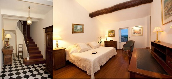 La demeure familale d'Armelle Andréis a gardé le charme des maisons provençales. @ DR