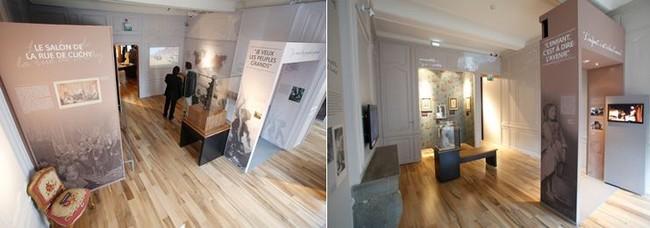 Photos d'intérieur de la maison natale de Victor Hugo à Besançon  @ J.C.Sexe