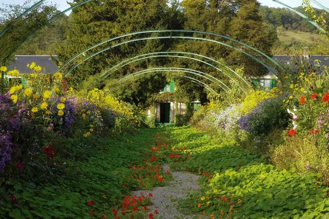 Jardins de Giverny .Fondation Claude Monet,  @Giverny  Droits réservés