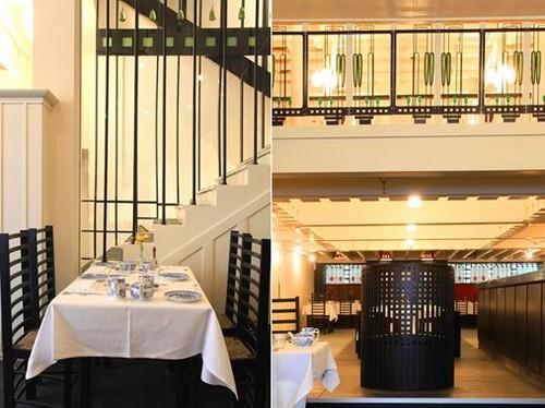 Entièrement rénovés et rouverts au public en juillet 2018 pour marquer le 150e anniversaire de la naissance de Mackintosh, les visiteurs peuvent à nouveau déjeuner ou tout simplement prendre une infusion dans les salons de thé. Crédit photo Mackintosh at the Willow society.