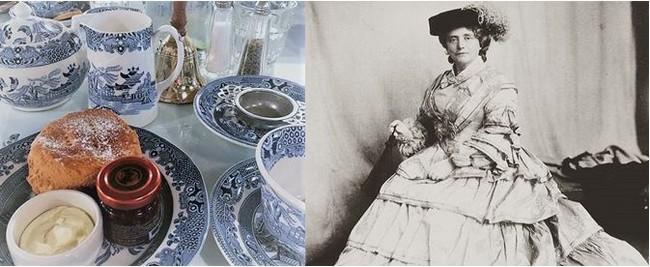 Kate Cranston (à droite) était une chef d'entreprise très inspirée dans un temps où il était difficile d'être une femme et de gagner de l'argent. Crédit photo Mackintosh at the Willow society.