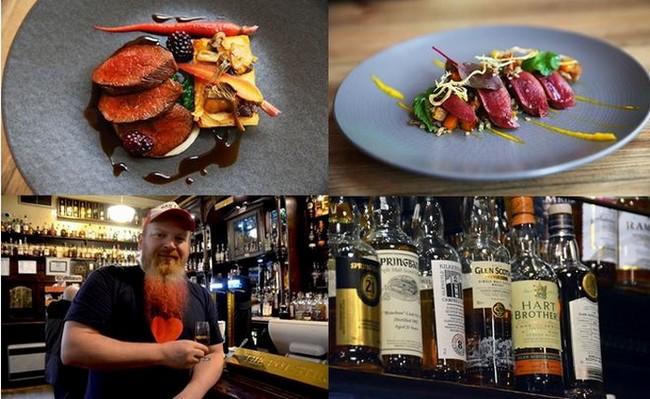 Vivez une véritable expérience gastronomique au Gannet (le fou de bassan en gaélique) !  The Pot Still une institution pour boire un Whisky à Glasgow. Crédit photo David Raynal.