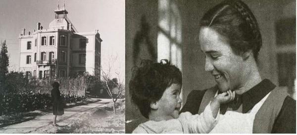 Elisabeth Eidenbenz, une jeune infirmière suisse qui aida de nombreux réfugiés dont beaucoup de femmes, lors de la Retirada. (photos d'archives DR)