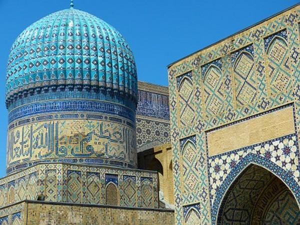 Samarkand,  cité de légendes.  @ Pixabay