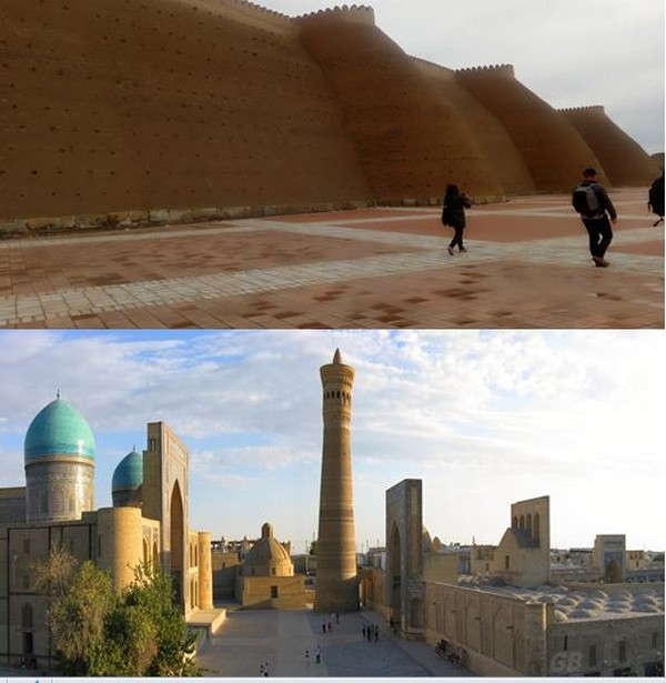 La citadelle d'Ark, l'ensemble Poïkalian,  Medersa Mir-i-Arab. @ FS