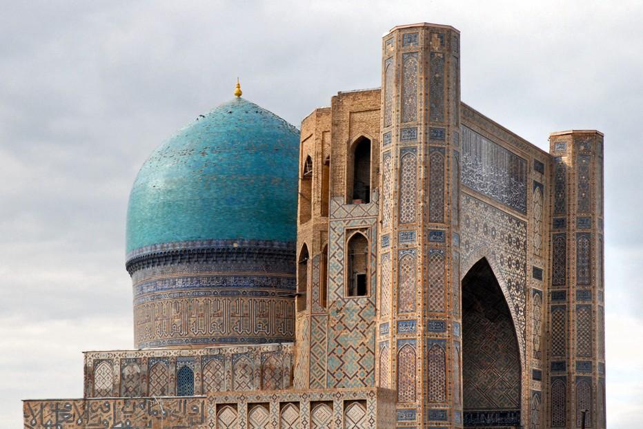 Mosquée Bibi-Khanoum  Bibi-Khanoum, «  la première femme », c'est-à-dire l'épouse principale de Tamerlan; @ Pixabay.org
