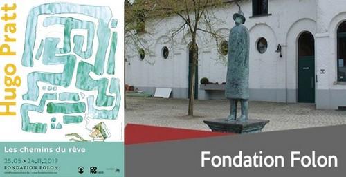 Affiche exposition - @Fondation Folon