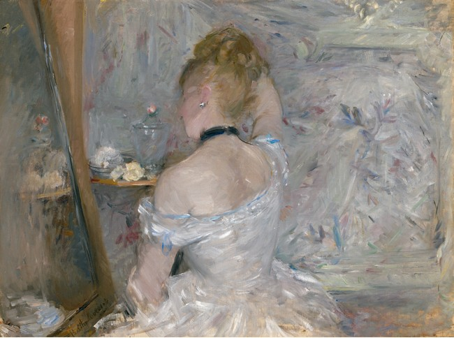 Berthe Morisot_Femme à sa toilette Copyright Image Art Institute of Chicago