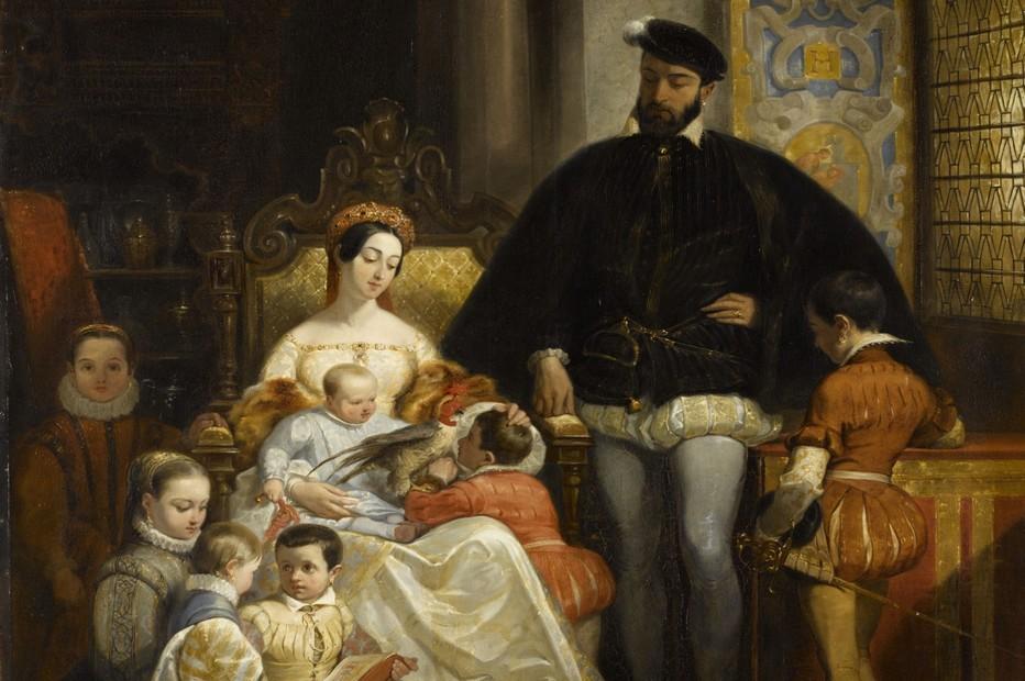 """Exposition Château de Blois """"Enfants de la Renaissance"""" @ DR"""