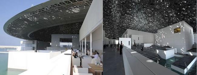 Le Louvre Abu Dhabi propose également aux visiteurs un minimum de quatre nouvelles expositions par an, des programmes continus de spectacles vivants et d'ateliers éducatifs, un musée des enfants, des restaurants, et une boutique. @PInterest et Louvre Abu Dhabi