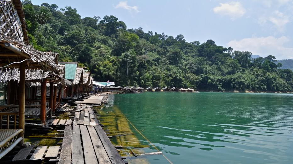La Thaïlande est également connue pour sa faune exceptionnelle et sa végétation luxuriante. Il y a plus de 300 parcs nationaux en Thaïlande, ici à Khao Sok. @ Pixabay/Lindigomag