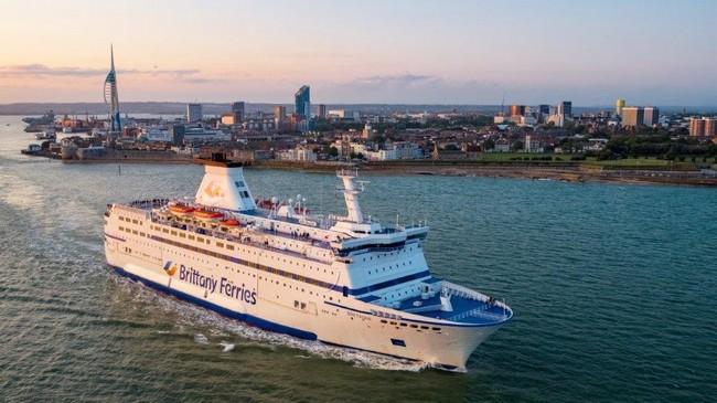Passer les fêtes de fin d'année à Londres avec Brittany Ferries . @DR
