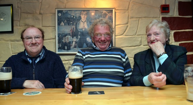 La Guinness la bière brune emblématique de l'Irlande, ici dans un pub à Limerick @David Raynal.