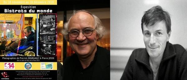 Retrouvez les ouvrages de Pierre Josse et Pierrick Bourgault. Crédit photo David Raynal, D.R.