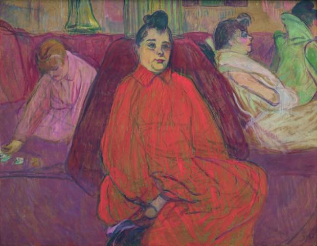 Toulouse-Lautrec  : Le divan @ Grand Palais