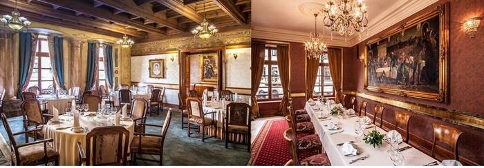En 1364, l'emplacement du futur restaurant servait déjà de cantine de luxe au grand roi fondateur de la Pologne Casimir III (1333 – 1370).© Wierzynek