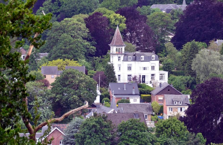 Wallonie - Les Thermes de Spa ont été érigés en 2004 sur la colline d'Annette et Lubin. @David Raynal