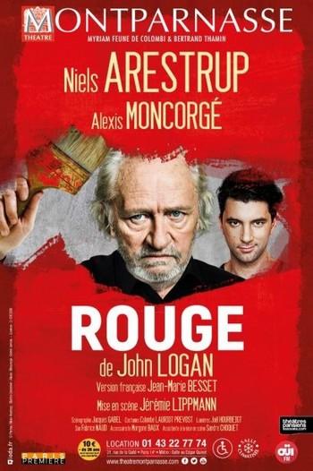 Théâtre - La couleur ROUGE, une joute sur la quête d'un absolu dans l'art