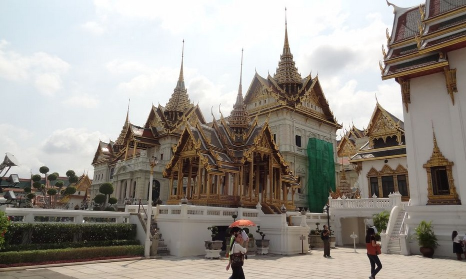 Le Grand Palais ou Palais Royal couvre une surface de 29 hectares. Il est entouré par quatre murs longs de 2000 m.@ Lindigomag/Pixabay.com