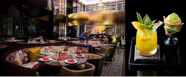 Pour un dîner Thaï à la fois authentique et raffiné choisissez le cadre superbe, le décor noir et or et l'ambiance tamisée du Royal Osha.@ Tripadvisor et F.Surcouf