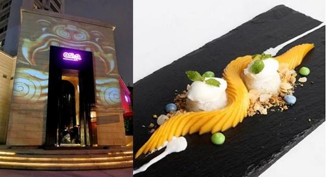 Une entrée qui invite au Osha, suivent des cocktails et des mets raffinés. @ Tripadvisor et F.Surcouf