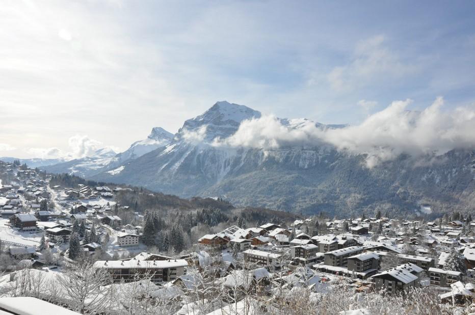 Domaine des Carroz (Haute-Savoie) où va se dérouler du 19 au 22 janvier 2020 la 27ème édition du Trophée Mer Montagne. @ DR