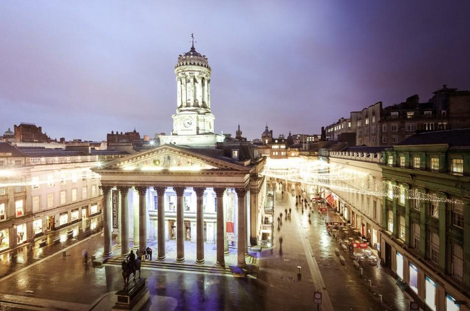 La Galerie d'art moderne de Glasgow (GOMA) est le musée d'art moderne le plus visité en Ecosse @ DR