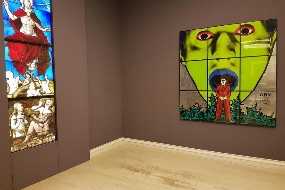 So British Gilbert & George Cry @  @ Musée des Beaux Arts de Rouen