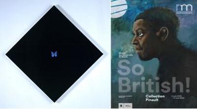 So British Damien Hirst  Dark Soul, Affiche de l'exposition @ Musée des Beaux Arts de Rouen