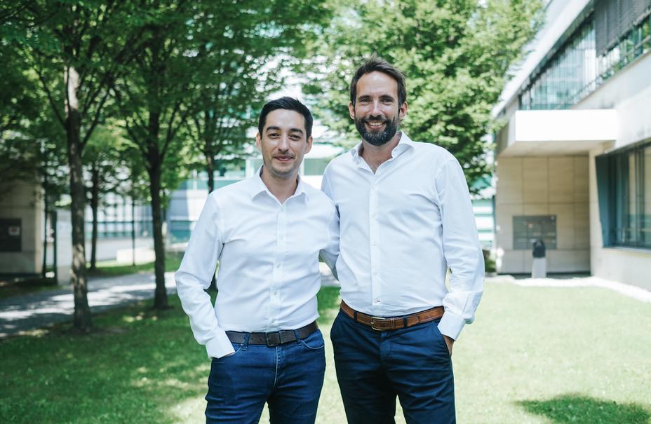 De gauche à droite Cédric Lopez et  Yann Maurer (DG) de Regiondo.@ DR