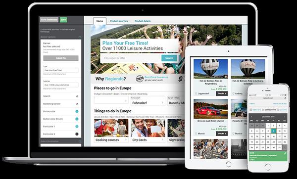 Regiondo, une solution innovante de réservation pour les professionnels du loisir. @ DR